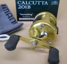 Shimano Calcutta 201B Baitcast Reel 6.0:1 Left Hand CT201B New