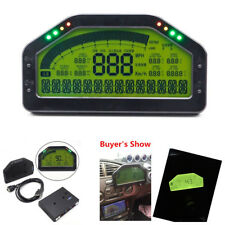 Universal Car Dash Race LCD Screen Display Gauge Sensor Kit 9000 rpm Rally Gauge