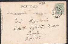 Genealogy Postcard - Rayment - South Lytchett Manor, Poole, Dorset RF643