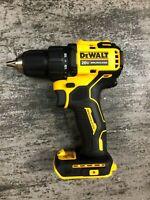 """NEW DEWALT DCD708 ATOMIC 20Volt Max Li-Ion 1/2"""" Brushless Drill Driver-TOOL ONLY"""