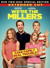 We're The MILLERS Extended Cut 2 Disc DVD Comedy Set Jen Aniston Jason Sudeikis