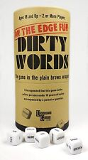 Dirty Words Dice Game *BRAND NEW, PLAIN BROWN WRAPPER* Dirty Word Game FUN!