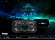 """DAB205 3"""" LCD Ambarella A12 Dash Camera DVR HD 1440P 4MP Video G-Sensor HDR L1"""