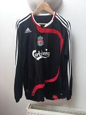 Liverpool Manga Larga Adidas 2007-2008 Camiseta De Fútbol Adulto Grande Torres