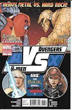 Marvel Comics AVENGERS vs X-MEN #3 first printing fight poster variant