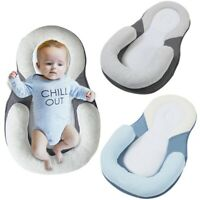 AU Newborn Baby Soft Pillow Infant Cushion Prevent Flat Head Sleep Nest Mattress