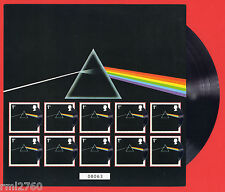 2016 PINK FLOYD DARK SIDE OF THE MOON STAMPS MAXI SHEET Mint