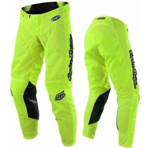 Troy Lee Designs MONO Flo Yellow TLD GP AIR Motocross Race Pants Adults