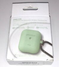 elago Silicone Hanging Case Designed for Apple AirPods 2 Olive (green) colour