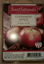 Scent Sationals Cinnamon Apples Scented Wax Melts 6 cubes 2.50 oz