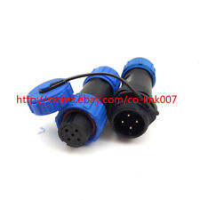SP13 4pin Waterproof Connector, 250V Solar Power Cord Auto Connector Air Plug