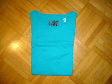 T-SHIRT o. Arm Gr. 164 C&A here+there in türkis-blau / sehr guter Zustand