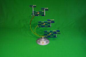 Franklin Mint 3 Dimensional Star Trek Chessboard