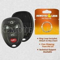for Buick Cadillac Chevy GMC Keyless Remote Car Entry Key Fob Shell Case 5b SUV