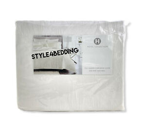 Hotel Collection Artisan Off White FULL / QUEEN Duvet Cover