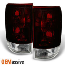 95-04 Chevy Blazer S10 GMC Jimmy Envoy Dark Red Tail Lights Replacement Pair Set