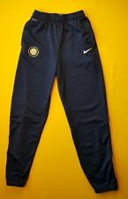 4.5/5 Inter Milan Internazionale training pants kids 13-15 years soccer Nike