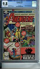 AVENGERS #197 CGC 9.8 WP RED RONIN ANT-MAN MARVEL COMICS 1980