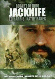 JACKNIFE DVD Jack Nife - 1989 Robert De Niro War Action Movie Ed Harris