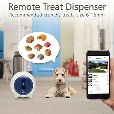 NEW SAVE $$ Dog Treat Dispenser with Camera WiFi Full HD Pet Monitor 2-Way Audio