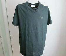 Nwt Lacoste V-neck Short Sleeve Green T-Shirt Size L (5) $49.50