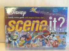 DISNEY Scene it? DVD Board Game 100% COMPLETE! Metal Tokens EUC