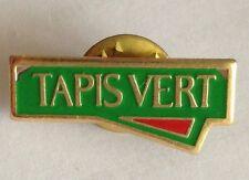 Tapis Vert Pin Badge Rare Vintage Advertising (F10)