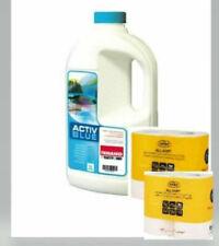Thetford Activ Blue 2 L.Sanitärflüssigkeit Fäkalientank + 2 Pack Toilettenpapier