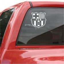 "FC BARCELONA Vinyl DECAL 5"" Car Truck Window STICKER Futbol Soccer Spanish Spain"
