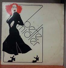 Bette Midler Vinyl LP Lot SD 7238 16010 7270 The Rose Divine Miss + Poster