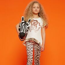 Roberto CAVALLI Baby Leopard Jeans 2 anni