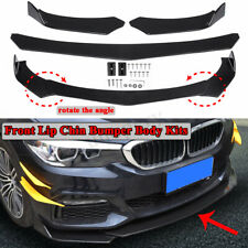 Universal Car Front Chin Bumper Lip Body Kit Spoiler For Honda Civic Mazda GMC