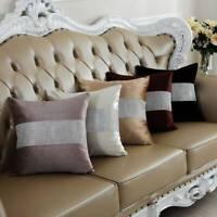 European Bronzing Flannel Cushion Cover Living Room Sofa Pillow Case Home Decor