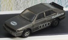 Matchbox Toys Audi Quattro dark grey 1:58 Very Good incl decals