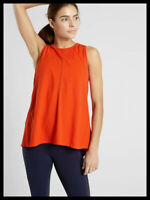 Athleta NWT Women's Foothill Tank Size Med  Color Orange