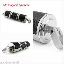 Motorcycle Bluetooth Audio Radio Sound System Stereo Speakers Waterproof Speaker
