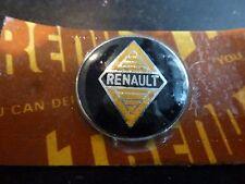 RENAULT Original 1960's Quality Gear Knob Lever Badge Key Fob Enamel NOS