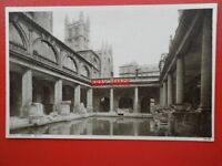 POSTCARD SOMERSET BATH ROMAN BATH