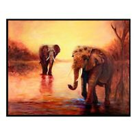 5D Diamond Painting Elephant Icon Full Square Rhinestones Picture Diamond Em 2E5