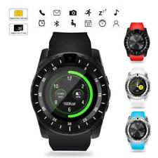 Bluetooth Smart Watch Android For iPhone Samsung With Camera Fitness Tracker iOS