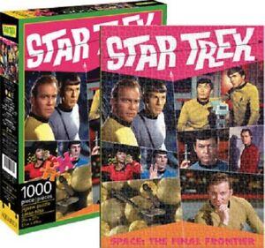 Star Trek Retro Crew 1000piece Jigsaw Puzzle Science Fiction Startrek Kirk Spock