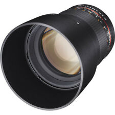 Samyang 85mm f/1.4 Aspherical IF Lens for Fujifilm X-Mount Cameras #SY85M-FX NEW