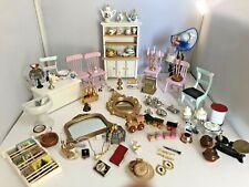 Vintage Dolls House Furniture Accessories Job Lot 1/12 T627