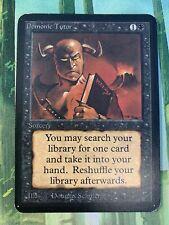 x1 Alpha Demonic Tutor (SP) MTG Magic