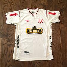 Universitario De Deportes Jersey Umbro Youth Large 16 Soccer Football Peru Garra