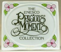 The Enesco Precious Moments Collection Display Plaque | 1990 | USED