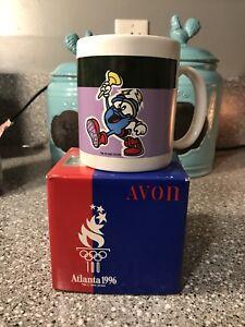 Vintage AVON Atlanta 1996 100th Olympic Games Commerative Sparky Coffee Mug NEW