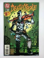 Deathstroke 58 DC Comic Book 1996