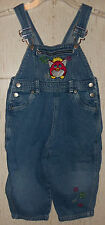 CUTE GIRLS Furby DISTRESSED BLUE JEAN OVERALLS  SIZE 3T