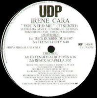 IRENE CARA - You Need Me ( Ti Sento ) - TODD TERRY Rmx